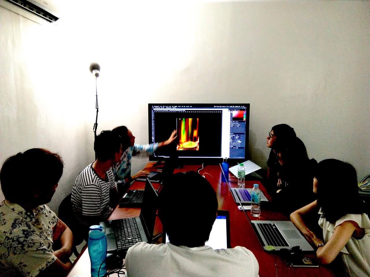 アクトハウスの留学6ヶ月コース、デザイン講座を体験